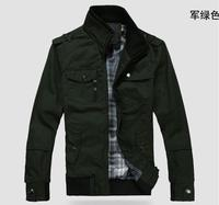 Hot Men S Coat Fashion Clothes Winter Overcoat Outwear Winter Army Green Jacket Free Shipping Wholesale