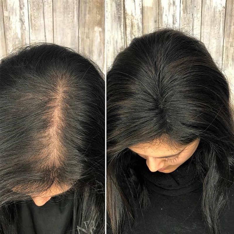 Peruk Saç Kadınlar Için Brezilyalı Bakire 100% insan saçı çıt çıtı Ins 2.5x4 Inç Dolago 1 Parça Doğal Renk 130% Hacim uzatma