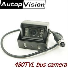 car CCTV camera 1 3 Sony CCD 480tvl IR vehicle video camera for Bus Truck