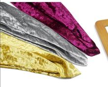 Gold velvet Diamond luster fabric four-sided stretch gold diamond flannel garment material