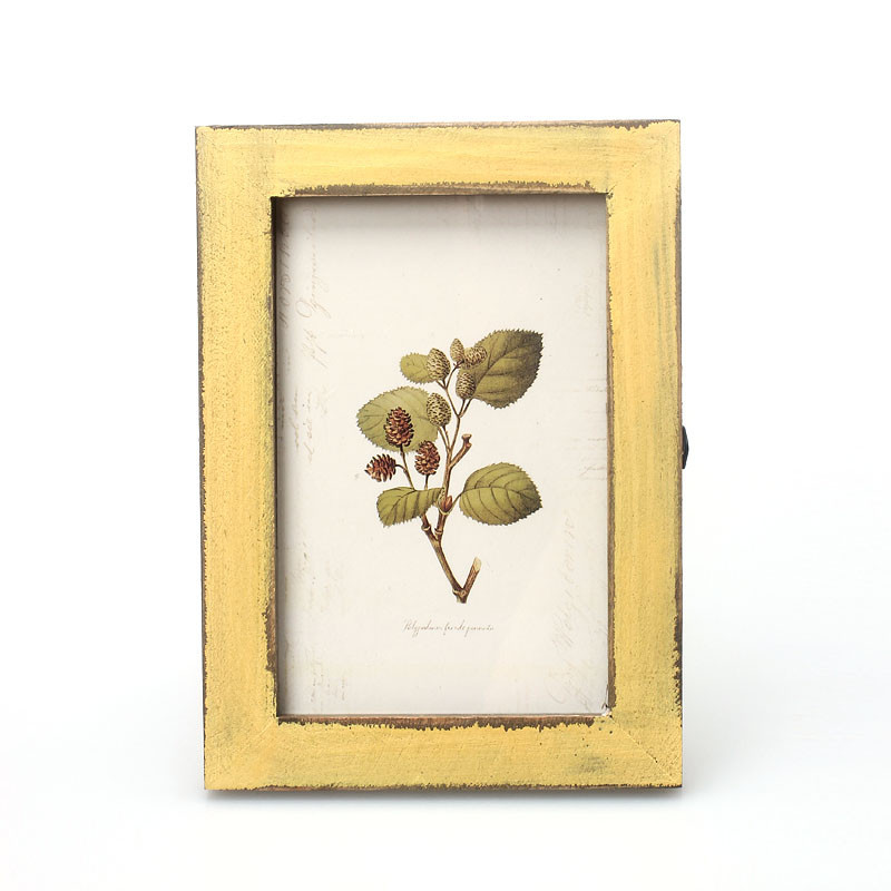 2016 New Overmal Vintage Photo Frame Home Decor Wooden