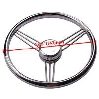13 1 2 Boat Accessories Marine Stainless Steel Steering Wheel 9 Spokes Marine Yacht Marine Hardware