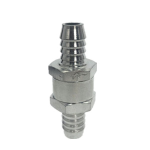 Image 2 - One Way 6/8/10/ 12mm 4  Size Valves Aluminium Alloy Fuel Non Return Check Valve One Way Fit Carburettor