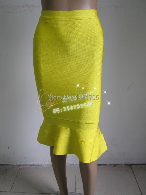 Stretch Bandage Skirt Celebrity 10
