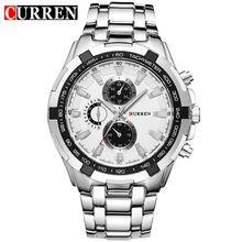 Reloj Hombre CURREN 8023 Marque Simple Mode D'affaires Décontractée Montres Hommes Date Étanche Quartz Mens Montre relogio masculino