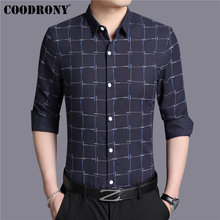 Shirt Casual COODRONY Shirts