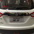 For 2013-2014 Suzuki SX4 S Cross Automobile  Chrome Rear Door Trunk Lid Cover Trim Car Styling Stickers Accessories