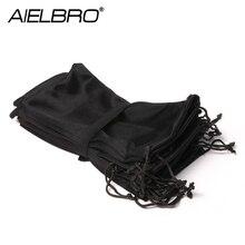 цена на AIELBRO Soft Cloth Glasses Bag Sunglasses Case Waterproof Dustproof Eyeglasses Pouch Eyewear Accessories 1/5/10PCS