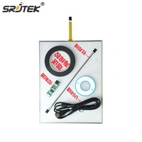 Srjtek 19 Inch 323mmx396mm 5 Wire Resistive Touch Screen Panel with USB Controller Kit
