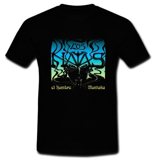 Los Natas или Natas El Hombre Montana Стоунер рок-группа футболка Размеры S, M, l Xl 2Xl ...