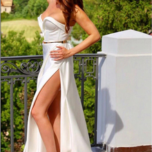 CLOUDS IMPRESSION Sexy Backless Mermaid Wedding Dresses