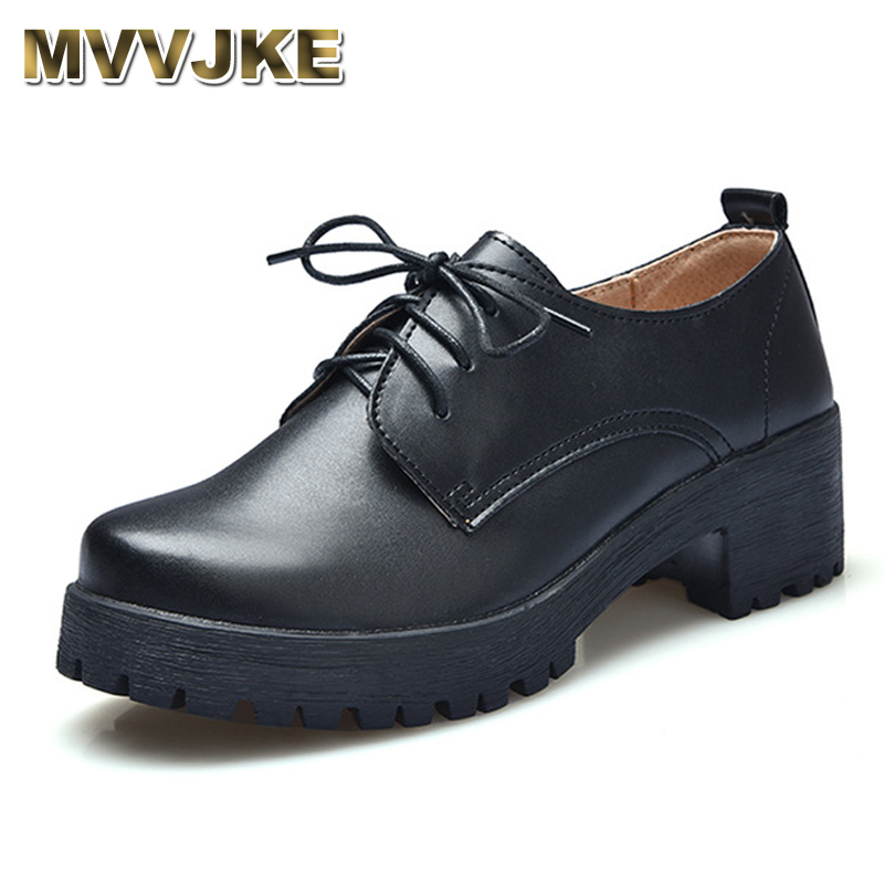 MVVJKE 2017 New Autumn/winter Genuine leather handmade retro Oxfords fashion Casual women shoes British college wind shoes serene handmade winter warm socks boots fashion british style leather retro tooling ankle men shoes size38 44 snow male footwear