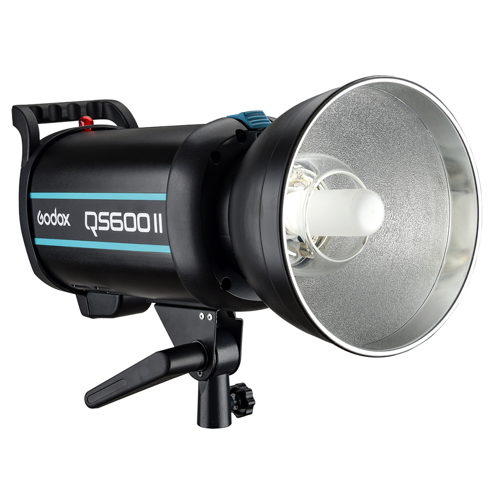 GODOX QS600II GN76 with Built-in Godox 2.4G Wireless X System Studio Flash Strobe Light for Professional Studio Photographers