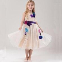 Hot 2016 New Arrival Summer girl dress Print pattern Children tutu dresses for girls baby girl
