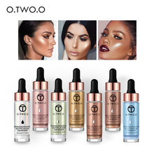купить O.TWO.O Liquid Highlighter Make Up Highlighter Cream Concealer Shimmer Face Glow Ultra-concentrated illuminating bronzing drops по цене 168.96 рублей