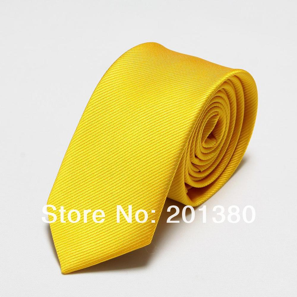 Microfiber Men Ties Novelty Yellow Mens Neck Tie One Piece Neckties Cravat Apparel Accessories Fashion Ascot Solid Color