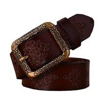 2016 Belts Women New Fashion Belts Woman Vintage Genuine Lea