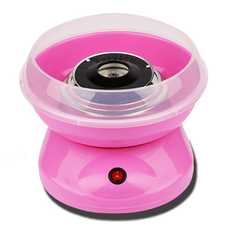 купить Electric DIY Sweet Cotton Candy Maker MINI Portable Cotton Sugar Floss Machine по цене 2175.24 рублей