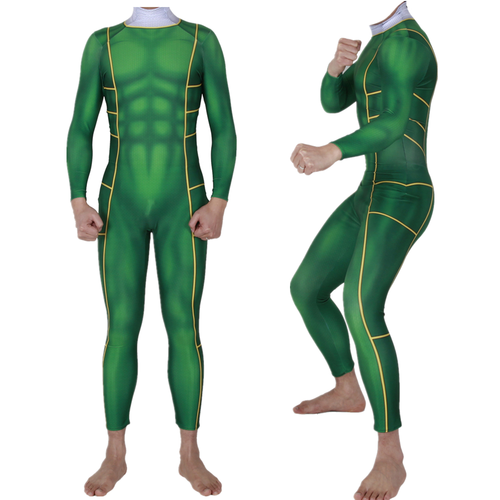 Adult Kids Green Power Rangers Morphsuit Cosplay Costume Zentai Bodysuit Suit Jumpsuits