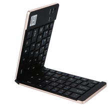 Portable Folding Keyboard Ultra Slim Wireless Bluetooth Foldable for IOS Android Windows Pocket Size#G4