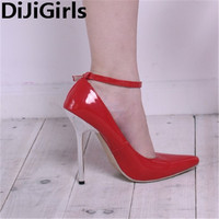 Myers 13 Cm Black Metal Plating With Catwalk Shows Sexy Big High Heels Shoes Shoes Code