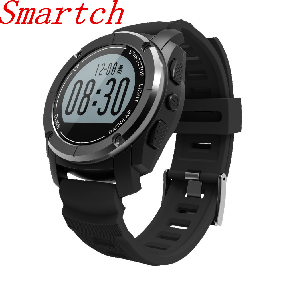 Smartch S928 GPS Tracker Bluetooth Sports Smart Watch Outdoor Band MTK2502 IP66 Waterproof with Heart Rate Monitor Pressure Pass smart baby watch q60s детские часы с gps голубые