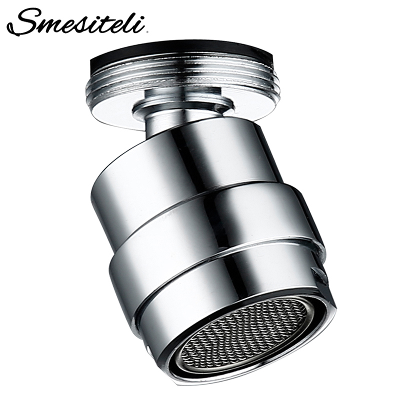 Smesiteli 360 Degree Swivel Faucet Aerator Water Bubbler Saving Tap For Bathroom Kitchen Bidet Faucet Filter Mesh Accessories