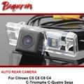 For Citroen C5 C6 C8 C4 C-Triomphe C-Quatre Sega Car Rear View Camera  Reversing Park Camera / HD CCD Night Vision wire wireless