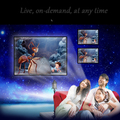 2016 new high quality mini 4K HD 1080P mobile projector support wireless WIFI for Android portable home