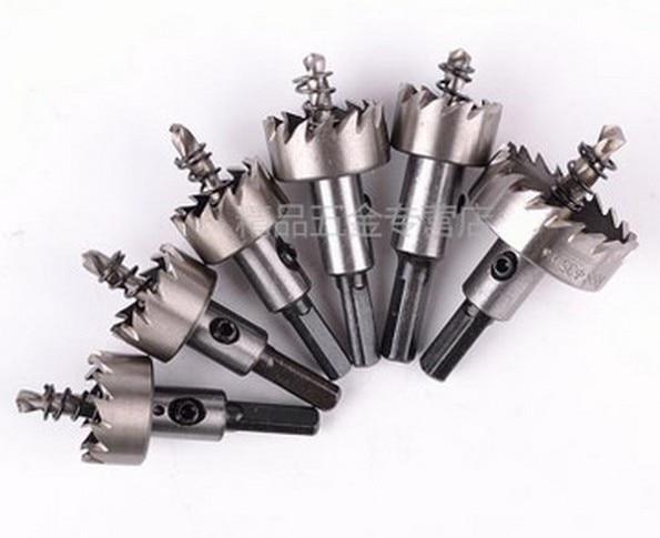 6st HSS Gatenzaag Metaal Staal Aluminium Plastic Hout 12-14-16-20-25-35mm