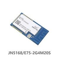 E75-2G4M20S JN5168 Zigbee 2,4 ГГц 100 мВт беспроводной передатчик приемник SMD 20dBm PCB IPEX 2,4 ГГц rf приемопередатчик модуль