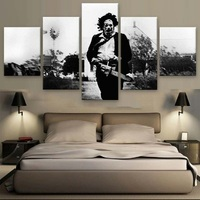 5 Piecesset Texas Chainsaw Massacre Modern Print Canvas Painting Wall Art For Sitting Room Adornment Bedroom