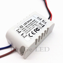 цена на 2 Pieces Isolation 10W AC85-277V LED Driver 2-4x3W 600mA DC6-13V LED Power Supply Constant Current Ceiling Lamp Free Shipping