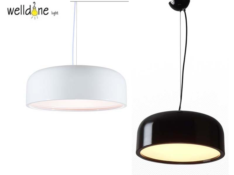 48cm 60cm Replicas E27 White/Black Modern round Pendant Lights for hotel cafe restaurant sitting room study bedroom велосипед forward cyclone 2 0 2015
