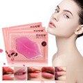 1 pcs PILATEN MARCA de Cuidados Da Pele de Cristal Colágeno Máscara Lábio Lip Care Pads Moisture Essence Anti Envelhecimento Rugas Pad Remendo Gel