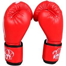 Muay Thai Kick Boxing Gloves Kungfu Martial Arts Women / Men Glove Mitts
