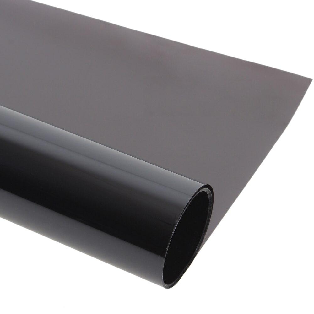 Film noir profond de teinte de fenêtre de voiture 0.5*30 m Auto Films solaires autocollant de Membrane d'isolation thermique de Film antidéflagrant de voiture