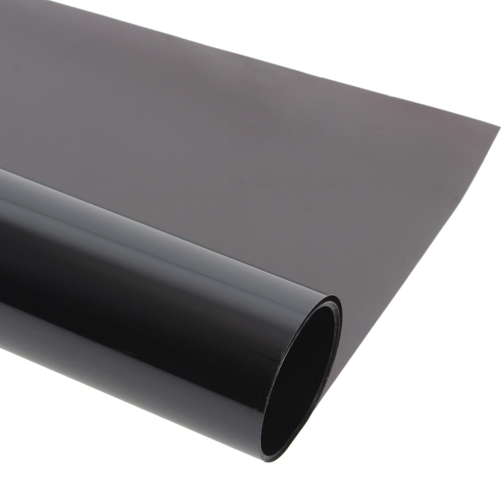 Deep Black Car Window Tint Film 0.5*30m Auto Solar Films Car Explosion proof Film Heat insulation Membrane Sticker