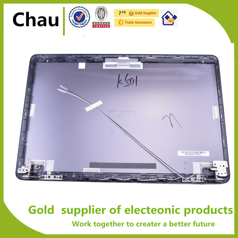 New For ASUS K501 V505L A501 N501 K501LB U5000 LCD Back Cover Assembly Screen axis 13NB0A52AM0121 цена и фото