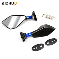Universal Motorcycle CNC Mirrors Accessories Scooter Parts Moto Rearview Mirrors For BMW R1200GS S1000RR F650GS F800GS R1200R