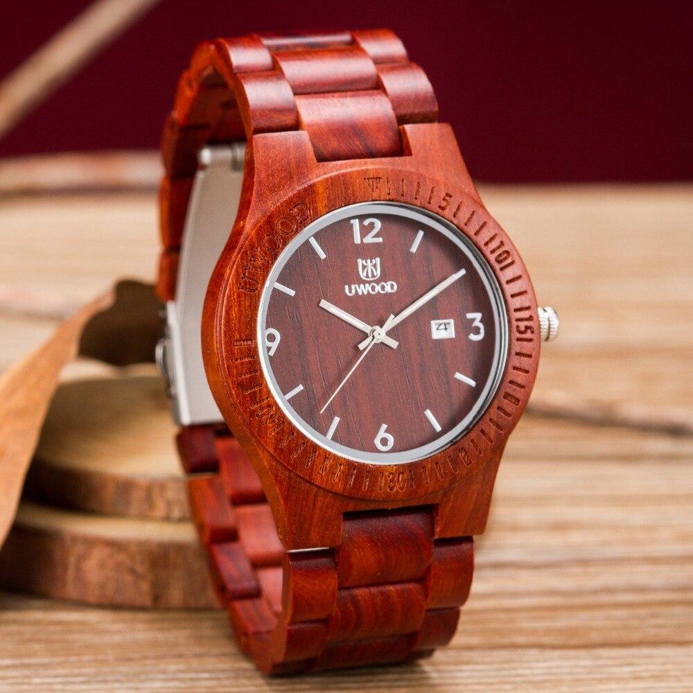 2018 New Fashion Top Brand Relogio Feminino Masculino Wood Watches Handmade Natural Clock Men Women Wooden Quartz Wristwatches