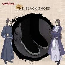 Grandmaster of Demonic yetiştirme Cosplay ayakkabı Wei Wuxian Mo Dao Zu Shi Cosplay aksesuarları