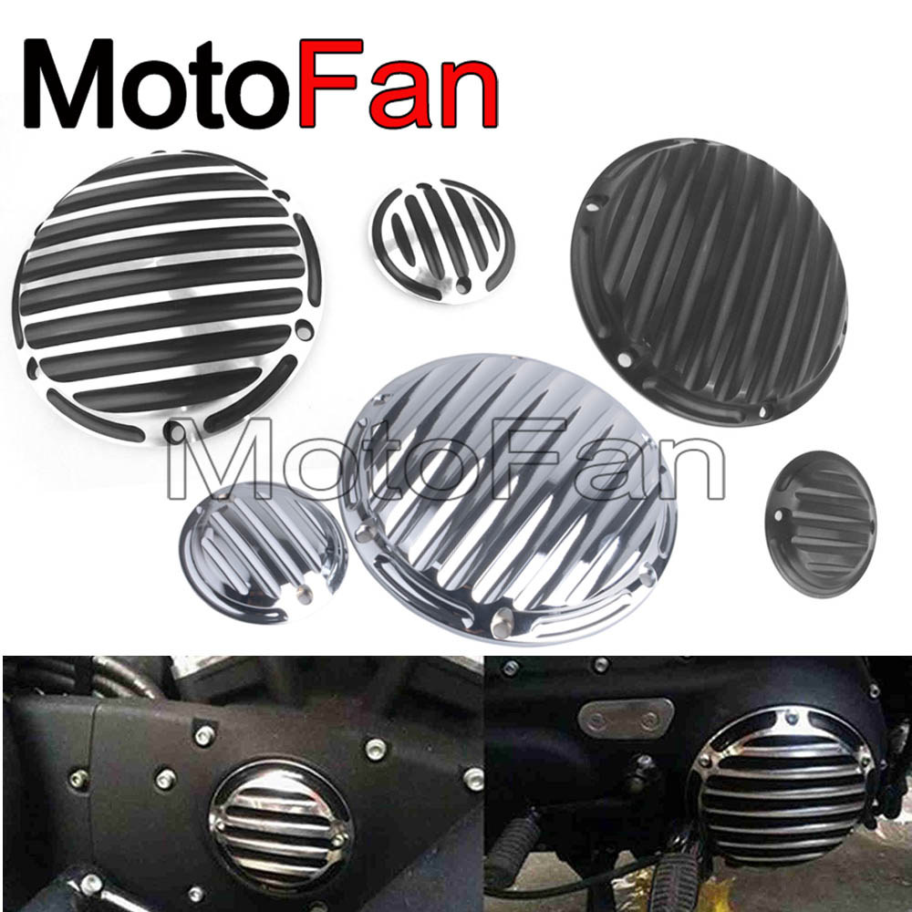 Motorcycle Timer Derby Cover Timing Covers for Harley Davidson Iron 883 Sportster Nightster 1200 50th Anniversary XL50 Seventy 2 aftermarket free shipping motorcycle parts for harley davidson xl1200c sportster 883 derby flame timing timer cover black