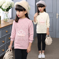 New 2016 Children's Sweater Spring Autumn Girls Cardigan Kids O-neck Sweaters Girl's Fashionable Style Outerwear Pullovers