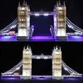 Набор светодиодных ламп для lego 10214  совместимых с 17004 Creator Expert London bridge  строительные блоки  кирпичи (только свет с батарейным блоком)