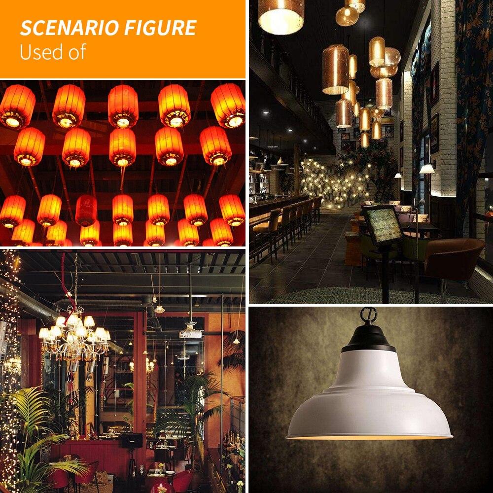 Купить с кэшбэком E26 LED Flame Effect Lamp 220V LED Lamp E27 Fire Light 110V E14 Flickering Emulation Candle Bulb 85-265V Living Room Decoration