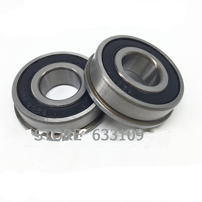 F6202 RS 16X35X11MM flange ball bearing for trolley water pump 6202 63 1200 6202 63 1401 for 4d95s engine forklift