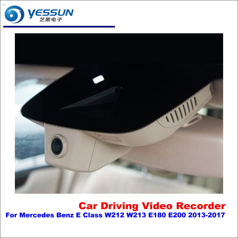 цена на YESSUN For Mercedes Benz E Class W212 W213 E180 E200 2013-2017 Car DVR Driving Video Recorder Front Camera Black Box Dash Cam