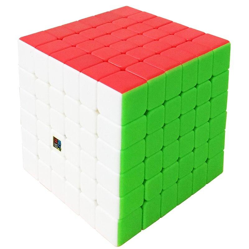 Nouvelle Arrivée de MoYu Cubage Classe 6 Couche MF6 6x6x6 Cube Noir/Stickerless MF Puzzle cube Jouets Pour ChildrenMagicCubeMF8843