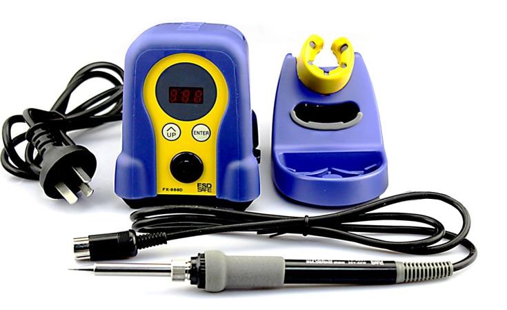 220V Eruntop  FX-888 FX-888D Digital Display Electric Soldering Irons With Solder Iron Handle Fx-8801